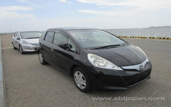 HONDA FIT BLACK 2012